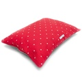 Cranberry Star Cotton Pillow Bed 3