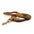 Rope lead (braided) - Olive