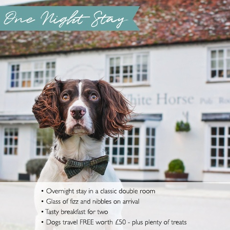 The White Horse Exclusive One Night Stay Voucher