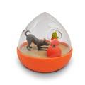 Wobble Ball Interactive Treat Toy - Orange