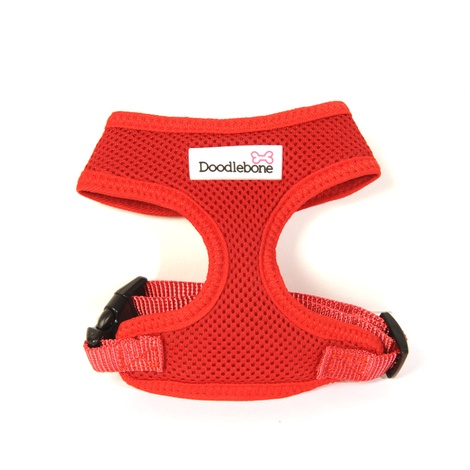 Airmesh Dog Harness – Red 2