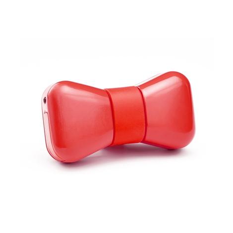 Wonderwoof Bow Tie Activity Tracker – Red