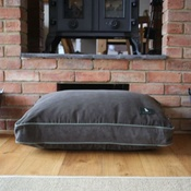 Hunt & Wilson - Luxury Corduroy Dog Bed – Olive