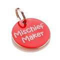 K9 Small Mischief Maker Cat ID Tag