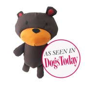 Beco Pets - Toby the Teddy Squeaky Plush Dog Toy