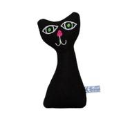 Terri Leahy - Lavender Kitten - Black
