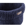 Cotton Toy Basket - Navy 2