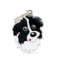 Border Collie Engraved ID Tag