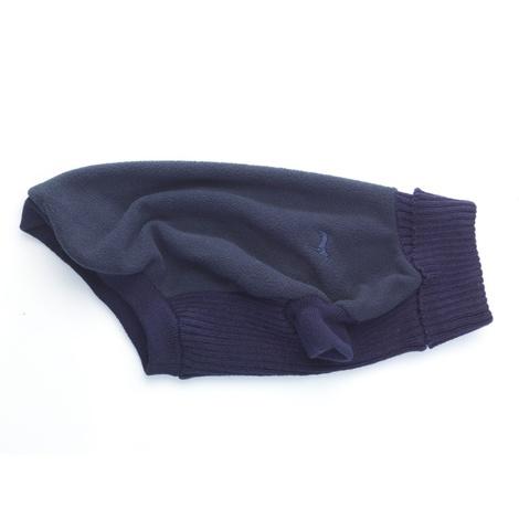 Fleece & Knit Dog Jumper – Navy