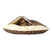 Charley Chau - Snuggle Bed - Dotty Chocolate