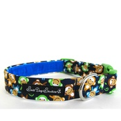 Salt Dog Studios - Salt Dog Studio Cheeky Monkey Dog Collar