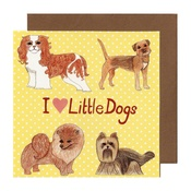 Kate Garey - Little Dogs Card