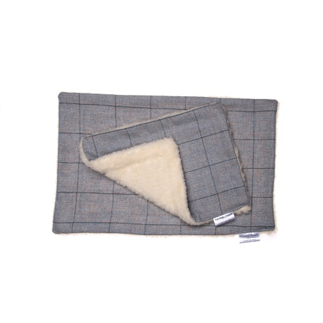 Darcy Luxury Tweed & Fleece Blanket