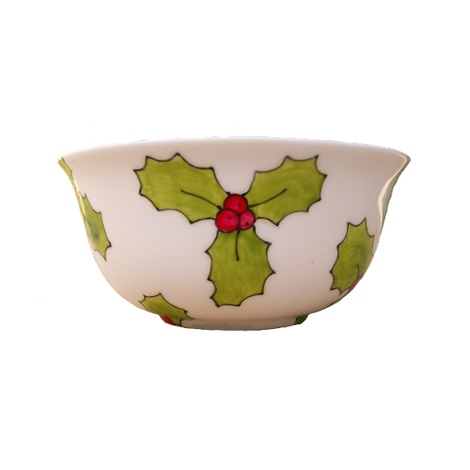 Holly & Berry Bowl