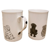 Laura Lee Designs - Classic Dogs Mug