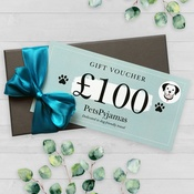 PetsPyjamas - £100 Travel Gift Voucher by Email