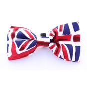 Pet Pooch Boutique - Union Jack Bow Tie