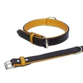 Fusion Brown Leather Dog Collar 2