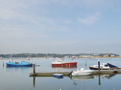 Houseboat Heyvon, Isle of Wight, Bembridge