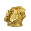 Winged Pug Candle - Gold 2