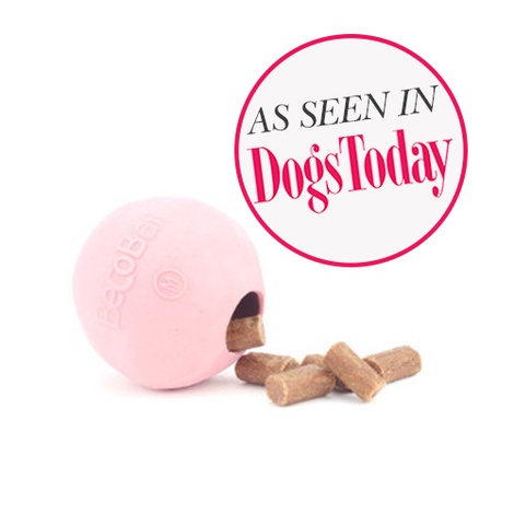 BecoBall Dog Toy - Pink