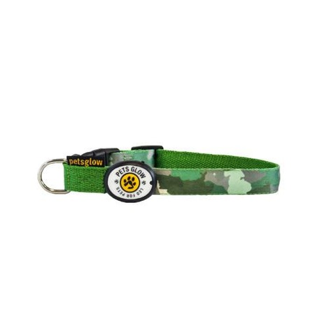 Camouflage LED Dog Collar 2