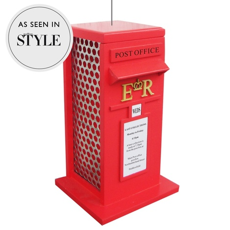 Post Box Peanut Bird Feeder