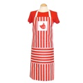Cat Striped Apron