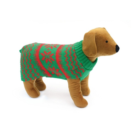 Doggy Things Snowflake Knitted Jumper 2