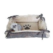 Pet Brands - Tweedy Basket Tie Bed