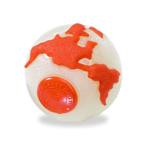 Orbee Tuff Orbee Ball - Glow/Orange
