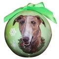 Greyhound Christmas Bauble