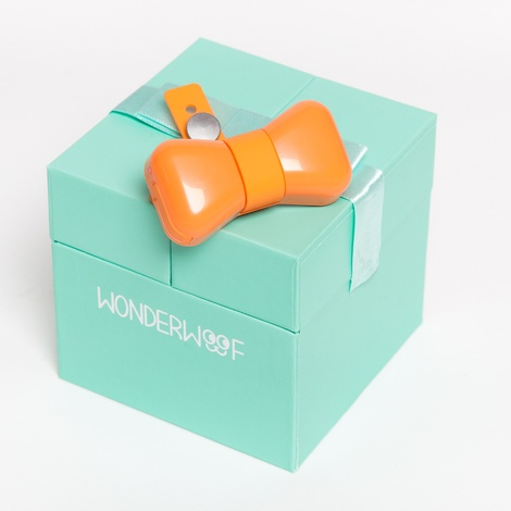 Wonderwoof Bow Tie Activity Tracker – Orange 5
