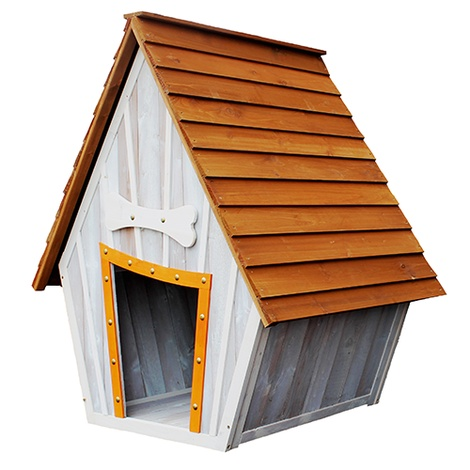 The Bark-Shire Wooden Dog House 2