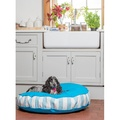 Bon Bon Soft Dog Bed - Blue Stripe 4
