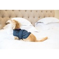 Pink Shetland Wool Waxed Dog Coat 4