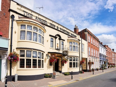 The Angel Inn Hotel, Worcestershire, Pershore