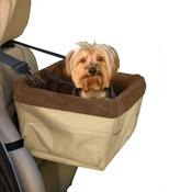 Kurgo - SkyBox Booster Car Seat - Khaki