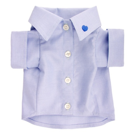 Dog Clothing Light Blue Shirt