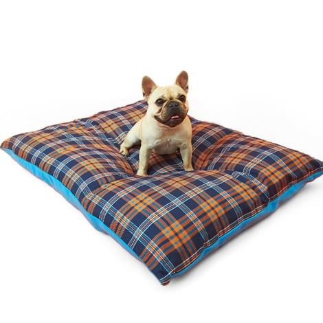 Henry Holland Blue Tartan Dog Bed 4