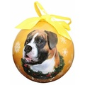 Uncropped Boxer Christmas Bauble
