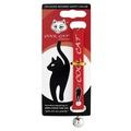 Cool Cat Luxury Designer Safety Cat Collar - Red