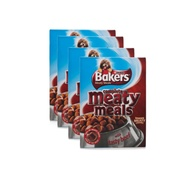 Bakers - Meaty Meals Beef Dog Food x 4