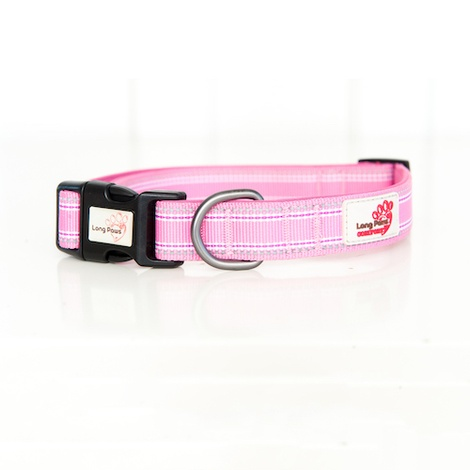 Comfort Padded Dog Collar – Pink