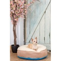 Cosy Top Soft Dog Bed - Blue 3
