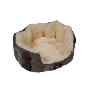 Zacht Supersoft Oval Dog Bed