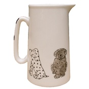 Laura Lee Designs - Dogs Farmhouse Jug