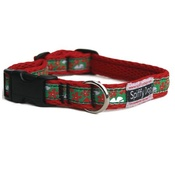 SpiffyDog - Red Hawaiian Collar