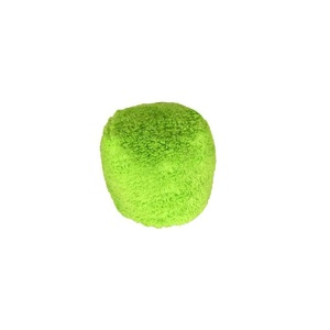 Fuzzies Green Ball Small Dog Toy