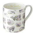 Badger Print Mug
